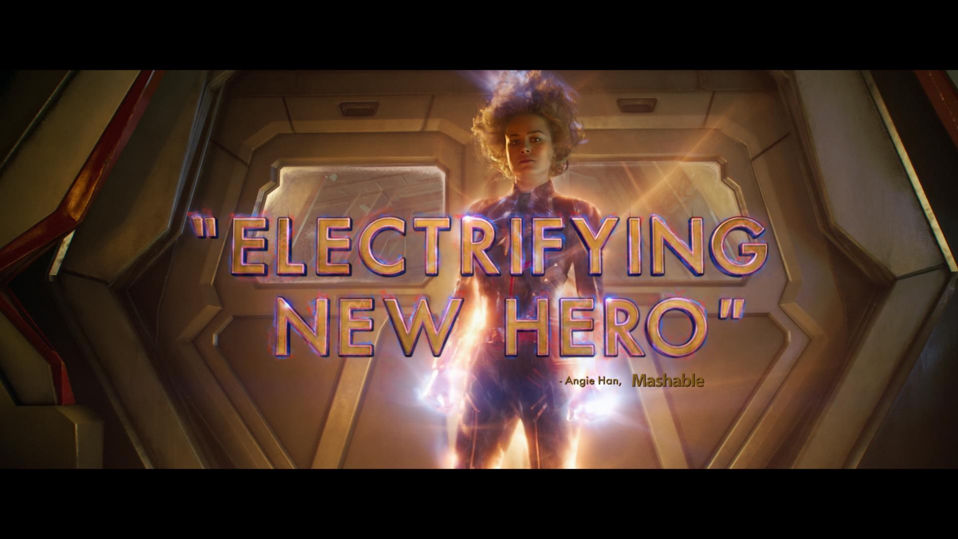 Captain Marvel – No. 1 Movie / Rolling Stones