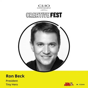TINY'S PRESIDENT TO SPEAK AT CLIO ENTERTAINMENT'S CREATIVE FEST