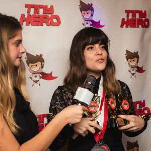 1<small>st</small> ANNUAL TINY AWARDS A SMASH HIT!