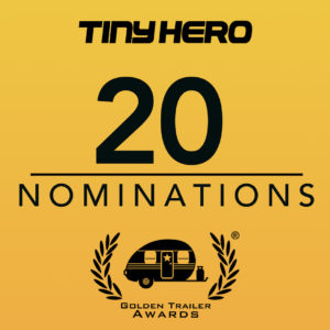 TINY SCORES 20 NOMS AT THE THE GOLDEN TRAILER AWARDS!